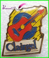 Pin's Instrument de Musique Une Guitare CLAIRGEL #24