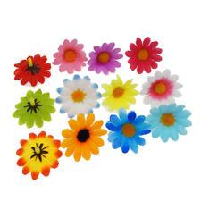 100 pcs Multi-colors Artificial Silk Fabric Daisy Flowers Wedding Party Decor