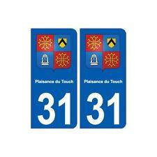 31 Plaisance-du-Touch blason ville autocollant plaque stickers