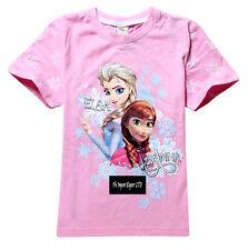 Frozen - Maglia bambina - Girl T-Shirt - Anna e Elsa A000014-17-19