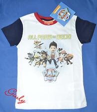 Maglietta PAW PATROL  3 a 7 anni maglia bambino t-shirt bimbo cartoni cuccioli