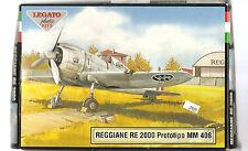 Legato Reggiane RE 2000  Prototipo MM 408   Italian WW II Fighter 1/72