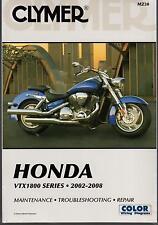 2002-2008 CLYMER HONDA MOTORCYCLE VTX1800 SERIES SERVICE MANUAL M230