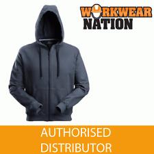 Snickers 2801 Full Zip Hooded Work Sweatshirt, NEW STYLE 2017 - NAVY BLUE