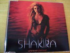 SHAKIRA WHENEVER WHEREVERL  CD SINGOLO