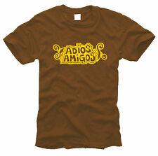 Adios Amigos - Herren-T-Shirt, Gr. S bis XXL