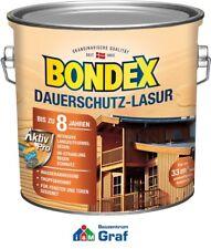 BONDEX Dauerschutz-Lasur 2,5 l / in verschiedenen Farben verfügbar / #873