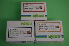 WAGO Klemmen mit Hebel -  222-412 / 222-413 oder 222-415 zur Auswahl