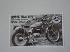 advertising Pubblicità 1975 MOTO BULTACO TRIAL 350