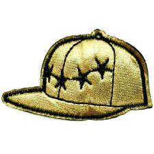 TOPPA Berretto Cappello da baseball STERN oro hip hop GIRL STARS aufbuegler