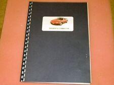 Mazda MX-5 Diagnostic Connector fault code manual, Eunos MX5 mk1 & mk2, book