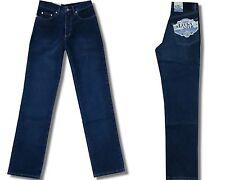 Lucky Star Custer Herren Stretch Jeans Hose Blue Black Used