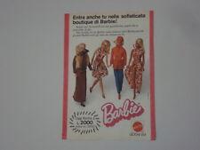 advertising Pubblicità 1975 BARBIE MATTEL
