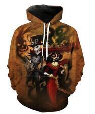 Plus Size hoodies Nightmare before Christmas Sally printed Pocket hoodies M-6XL