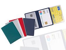 Porta Carte Di Credito 3 ante /Patente Tessera Sanitaria Codice Fiscale Card