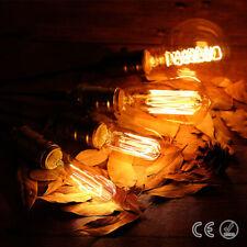 Tube/Pear E27 Screw ES Edison Vintage Bulbs Retro Industrial Ambient Lights Lamp