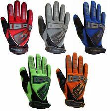 CrossFun Kinder Motocross Handschuhe grau orange grün blau rot Größe 5 6 8 XS