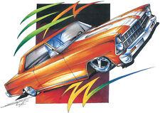 '66-'67 Chevrolet Nova Chevy II Classic Muscle T-shirt 100% Cotton Small to 5XL