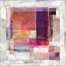 Michael Tarin: Coloration Keilrahmen-Bild Leinwand abstrakt modern Geometrie