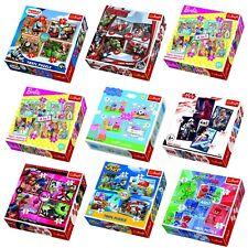 Trefl 4in1 Jigsaw Puzzles 35+48+54+70 Pc Cartoon Super Hero Characters Boys Girl