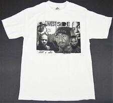 WESTSIDE Till I Die T-shirt West Coast CALI Rap Hip Hop Tee Adult S-2XL White