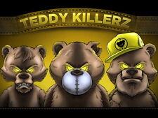 Teddy Killerz Drum and Bass Dubstep Music Art Huge Print POSTER Affiche