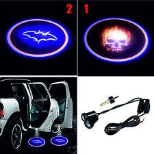 2X LED Autotür - Schädel & Batman . Logo Lichter Tür-willkommens für Alle Autos