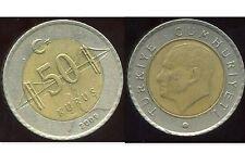 TURQUIE  50 kurus 2009