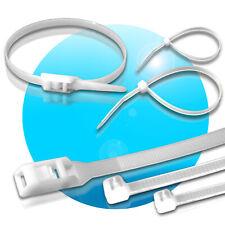 Kabelbinder UV-beständig wiederlösbar wiederverwendbar natur 10 14 15 20 30 35cm