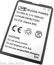 Mugen Power Extended Slim Battery 1900MAH For Verizon ZTE Jetpack Hotspot 890L
