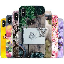 dessana Frühling TPU Silikon Schutz Hülle Case Handy Tasche Cover für Apple