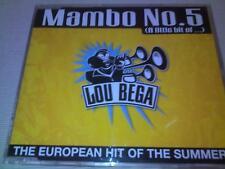 LOU BEGA - MAMBO NO.5 - 1999 UK CD SINGLE