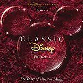 Classic Disney, Vol. 1 by Disney (CD, Apr-1995, Walt Disney) FREE SHIPPING