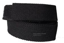 Koppel Gürtel Klettverschluss schwarz 90 - 140 cm Länge Klettgürtel Hosengürtel