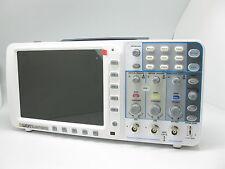 "OWON 100Mhz Oscilloscope SDS7102V 1G/s 8"" LCD LAN VGA free firmware upgrade USA"