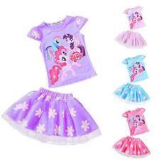 Mi Pequeño Pony Niñas Conjunto Set Top de manga corta fiesta falda tutú ropa de niños