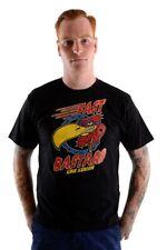 King Kerosin Oldschool quasi bastarda Vintage T-Shirt-Nero Rockabilly