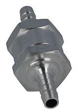 Uno dei modi in alluminio valvola di non ritorno Olio, Carburante, Benzina, Diesel 6mm 8mm 10mm 12mm
