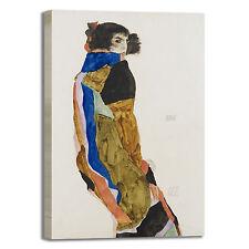 Schiele moa design quadro stampa tela dipinto telaio arredo casa