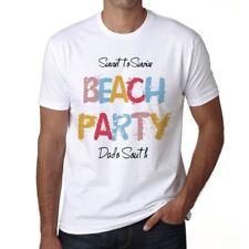 Dado South Beach Party Uomo Maglietta Bianco Regalo  00279