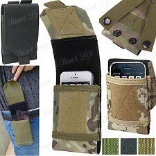 Universal Camuflaje Militar Bolsa para teléfono móvil Lazo De Cinturón Gancho