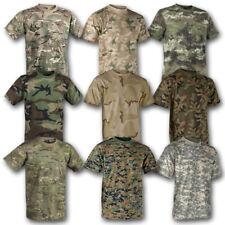 Helikon Tex Clásico Ejército Militar Camiseta British US Army Algodón Militar Camuflaje Camuflaje