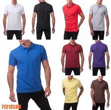 PRO CLUB POLO SHIRT ProClub Button Down Golf T Shirt Men's Big and Tall S - 10XL