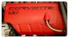 C6 2005-2013 Corvette LS7 Fuel Rail Acrylic Letter Kit - 7 Colors