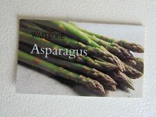 Waitrose 1998  2000s ~ Food Produce information Recipe Cards Card Variants (e17)