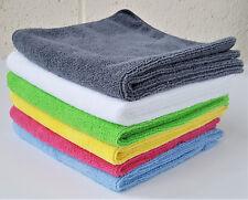 40x40cm Microfibre Cleaning Cloths Car Bathroom Polish Dusters Towel Microfiber