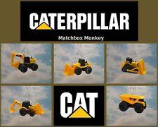 Caterpillar CAT Construction Equipment Dozer Loader Backhoe Christmas Ornament