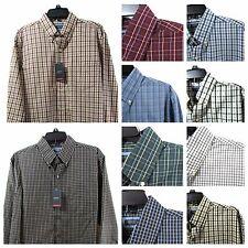 Men's Arrow Button-Front Shirt Nwt Size XL Plaid Classic Fit Hamilton