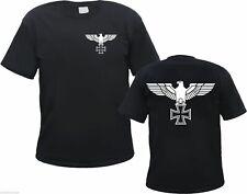 REICHSADLER T-Shirt - Eisernes Kreuz - VORNE & HINTEN - S bis 3XL - Iron Cross