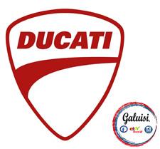 ADESIVO STICKER DUCATI CORSE SCUDO MOTO GP LOGO SIMBOLO per AUTO, MOTO, CASCO...